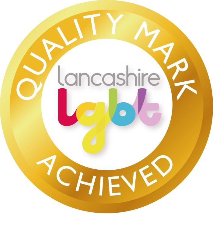Lancs LGBT QualityMarkLogo